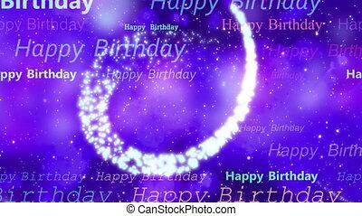 Cosmic Birthday loop