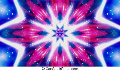Cosmic Blue Vortex VJ Loop