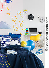 Cosmic design in a child room