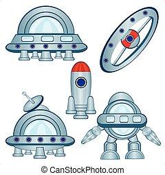 Cosmic flying machines