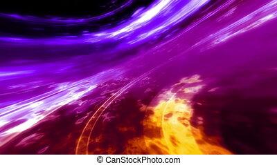 Cosmic swish looping VJ abstract - Animated cosmic swish...