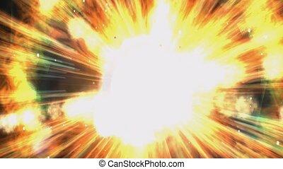 cosmique, explosion