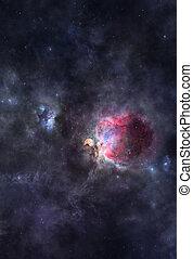 cosmique, nebulae