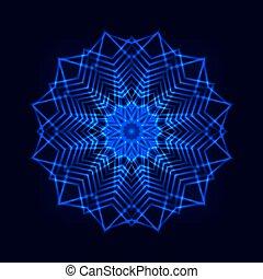 cosmique, résumé, étoile, flocon de neige