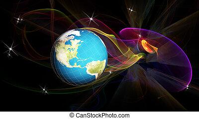 cosmo, globalizzazione, scienza, ricerca, tecnologia,  internet