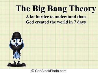Cosmological Model verses the Bible - Comical cosmological...
