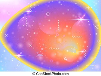 Cosmos background with galaxy and universe shapes and star dust.