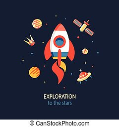 Cosmos Exploration poster