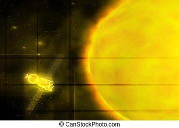 cosmos, solar system, energy