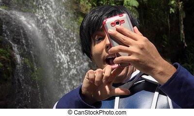 Cosplay Prince Taking Selfie