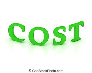 COST sign with green letters