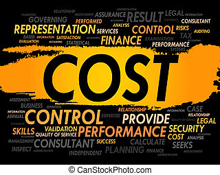 COST word cloud