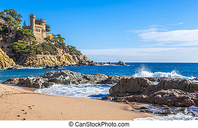 costa, スペイン, brava