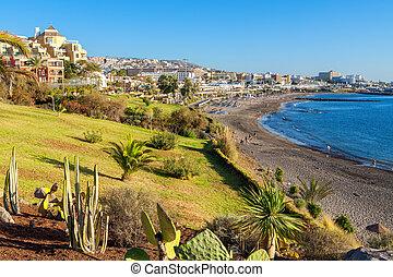 Costa Adeje. Tenerife, Canary Islands, Spain