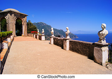costa amalfi, terrazzo