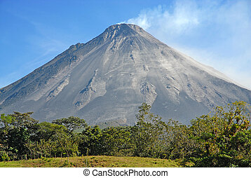 costa, arenal 火山, rica