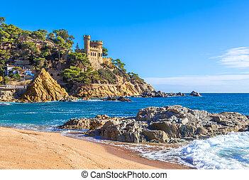 costa, brava, スペイン