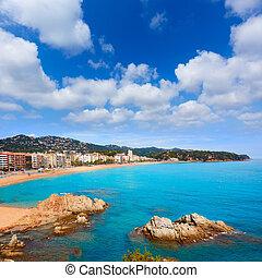 Costa Brava beach Lloret de Mar Catalonia Spain - Costa ...