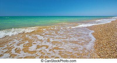 costa, di, spiaggia, a, day.