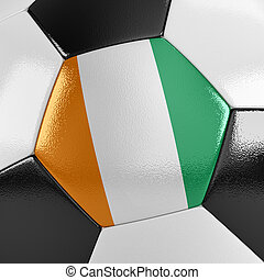 costa marfim, bola futebol