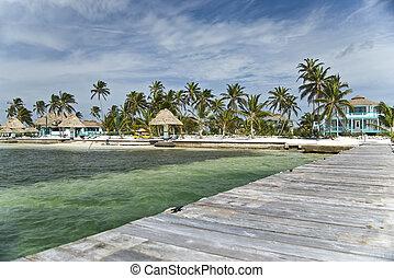 The Costa Maya Reef Resort on Ambergris Caye in Belize