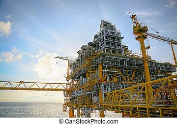costa, piattaforma costruzione
