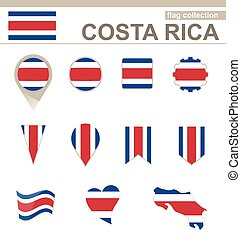 Costa Rica Flag Collection