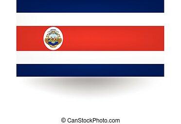 Costa Rica Flag - Official flag of Costa Rica.