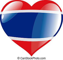 Costa Rica in heart