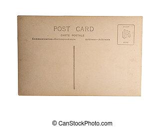 costas, cartão postal, antigas