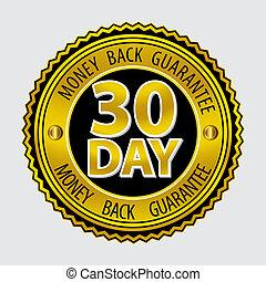 costas, dinheiro, 30, dia, garantia