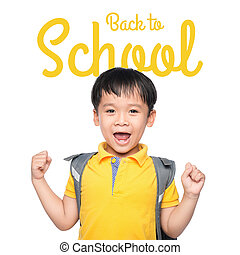 costas, para, school.