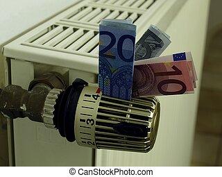 costes, calefacción