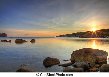 costiero, alba