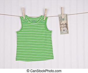 costo, di, estate, moda