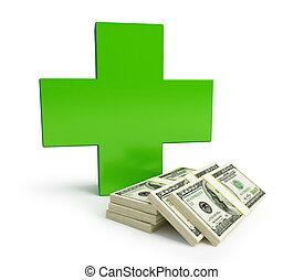 costoso, más, medicina, se convierte
