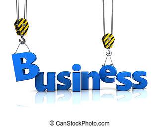 costruzione, affari