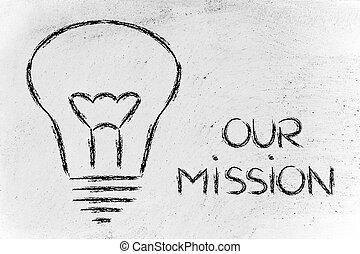 costruzione, affari, marca, ditta, missione, valori