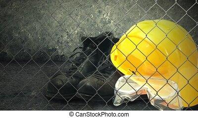 costruzione, apparecchiatura sicurezza