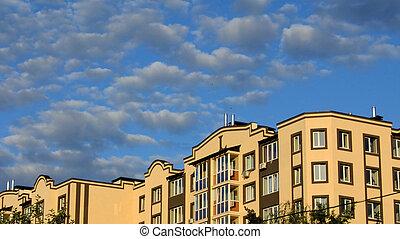 costruzione, appartamento