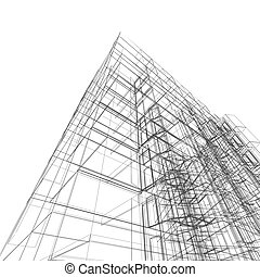 costruzione, astratto