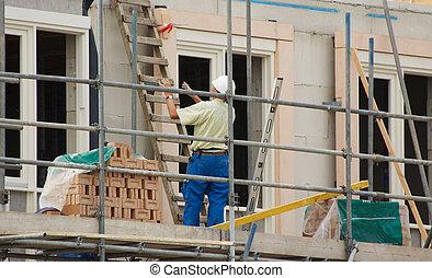 costruzione, casa