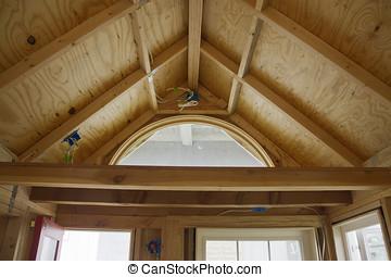 costruzione casa, magazzino, soffitta, piccolo