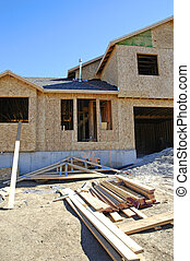 costruzione casa, nuovo