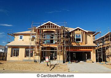 costruzione casa, sotto