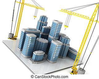 costruzione, città