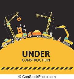 costruzione, composizione, sotto