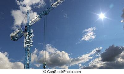 costruzione, concetto, zona