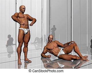 costruzione corpo, lifestyle.
