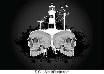 costruzione, cranio